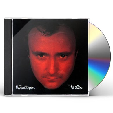 Phil Collins NO JACKET REQUIRED CD