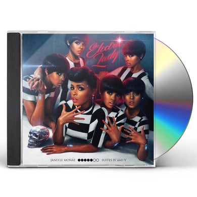 Janelle Monae ELECTRIC LADY CD