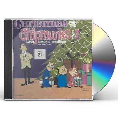 CHRISTMAS WITH THE CHIPMUNKS 2 CD