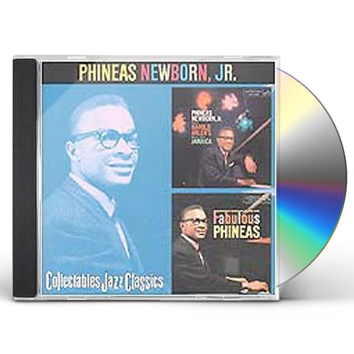 Phineas Newborn JAMAICA / FABULOUS PHINEAS CD