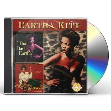 Eartha Kitt THAT BAD EARTHA / DOWN TO EARTHA CD