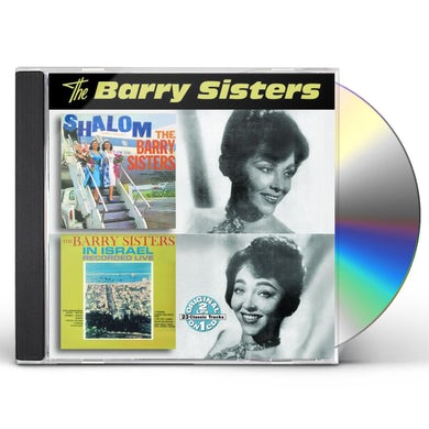 Barry Sisters SHALOM / IN ISRAEL RECORDED LIVE CD