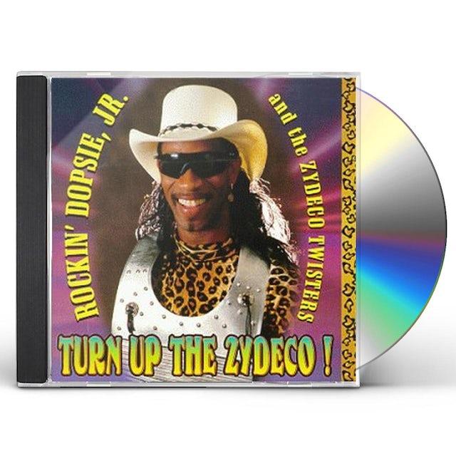 Rockin Dopsie TURN UP THE ZYDECO CD