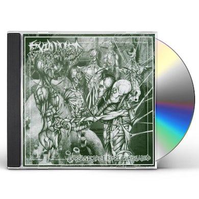 Exhumed GARBAGE DAZE RE REGURGITATED CD