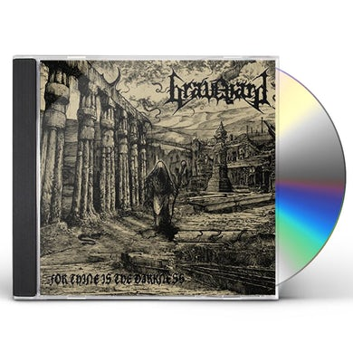 Graveyard FOR THINE IS THE DARKNESS CD