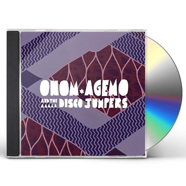 Onom Agemo And The Disco Jumpers LIQUID LOVE CD