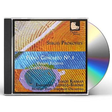 Sergej Prokofiev PIANO CONCERTO NO. 3 CD