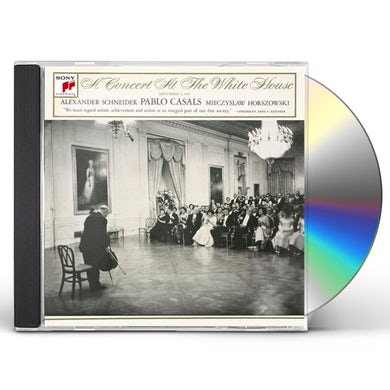Pablo Casals CONCERT AT WHITE HOUSE CD