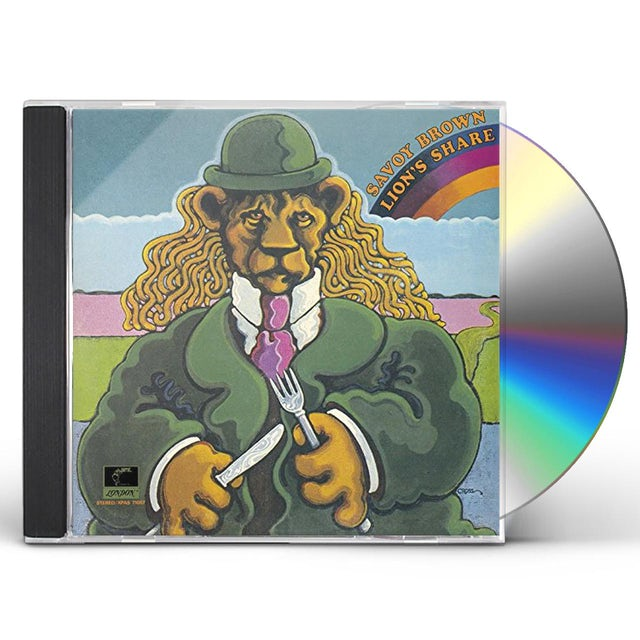 Savoy Brown LION'S SHARE CD
