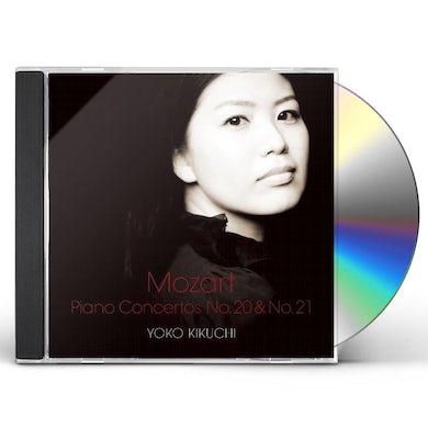 Yoko Kikuchi MOZART: PIANO CONCERTO NO.20 & NO.21 CD