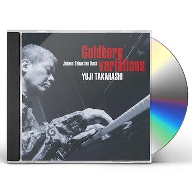 Yuji Takahashi BACH: GOLDBERG VARIATIONS CD