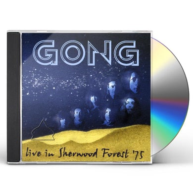 Gong LIVE IN SHERWOOD FOREST 75 CD