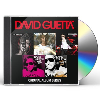 David Guetta ORIGINAL ALBUM SERIES CD