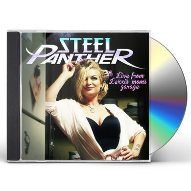 Steel Panther LIVE FROM LEXXI'S MOM'S GARAGE CD