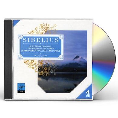 Sibelius KULLERVO CANTATAS THE MAIDEN CD