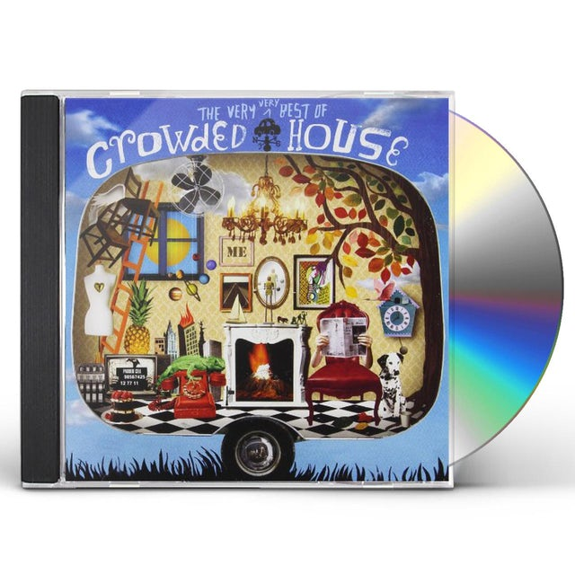 VERY VERY BEST OF CROWDED HOUSE CD