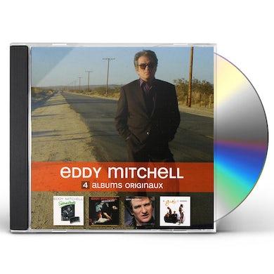 Eddy Mitchell 4 ORIGINAL ALBUMS CD