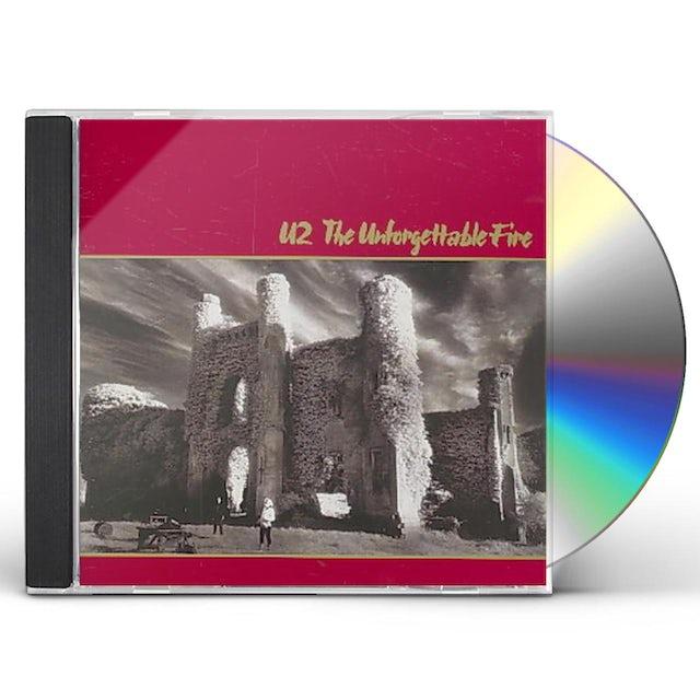 U2 UNFORGETTABLE FIRE CD