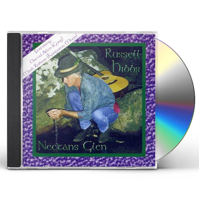 Daevid Allen STROKING THE TAIL OF THE BIRD CD