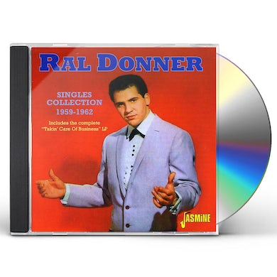 Ral Donner SINGLES COLLECTION CD