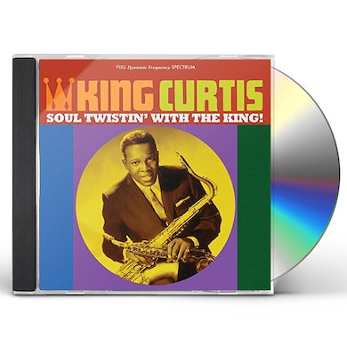 King Curtis SOUL TWISTIN WITH THE KING! CD