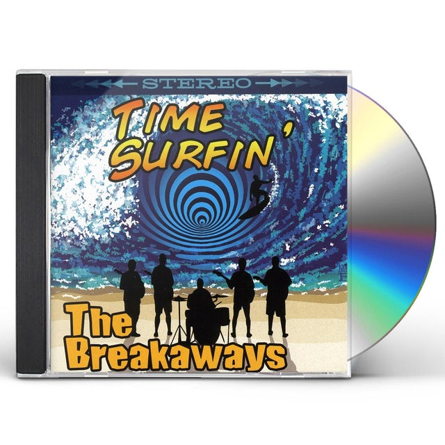 Breakaways TIME SURFIN CD
