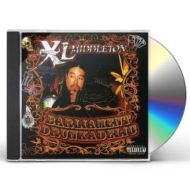 Xl Middleton BARLIAMENT DRUNKADELIC CD