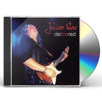 Julian Sas DELIVERED CD