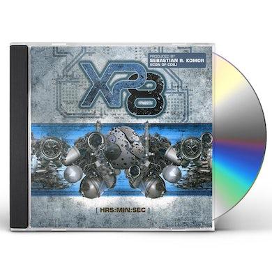 XP8 HRS:MIN:SEC CD
