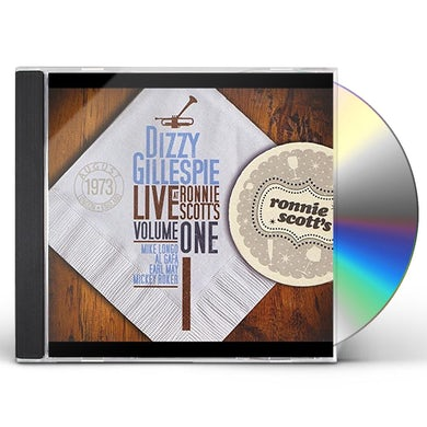 Dizzy Gillespie LIVE AT RONNIE SCOTT'S I CD
