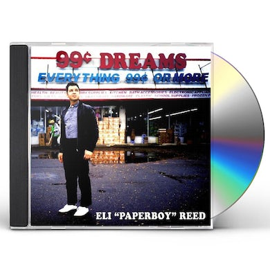 Eli Paperboy Reed 99 Cent Dreams CD