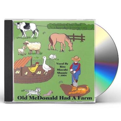 Rita Mizrahi Shamie GRANDMA RITA'S OLD MACDONALD. CD