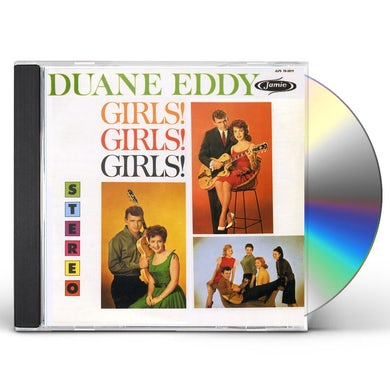 Duane Eddy GIRLS GIRLS GIRLS CD