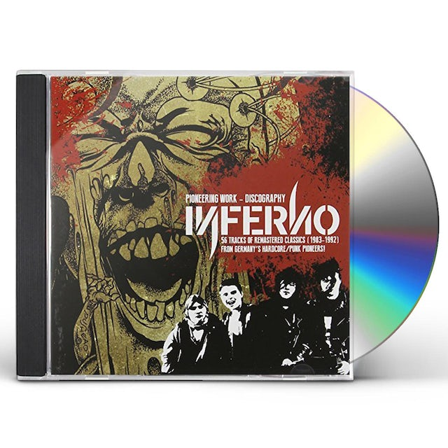 Inferno PIONEERING WORK: 56 SONG DISCOGRAPHY CD
