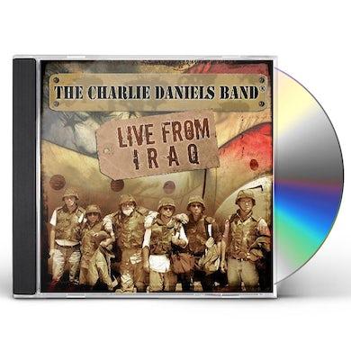 Charlie Daniels LIVE FROM IRAQ CD