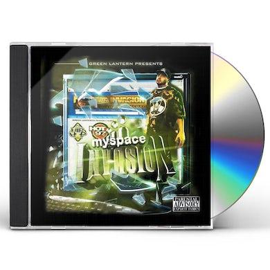 DJ Green Lantern MYSPACE INVASION CD