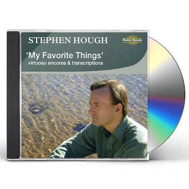 Stephen Hough MY FAVORITE THINGS: VIRTUOSO ENCORES & TRANSCRIPTI CD