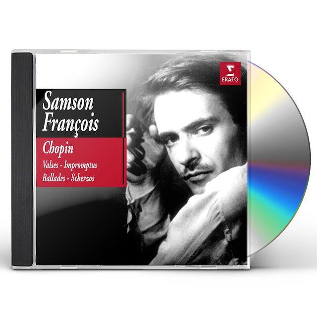 Chopin VALSES, IMPROMPTUS, BALLADES, SCHERZOS - S. FRANCO CD