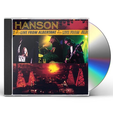 Hanson LIVE FROM ALBERTANE CD