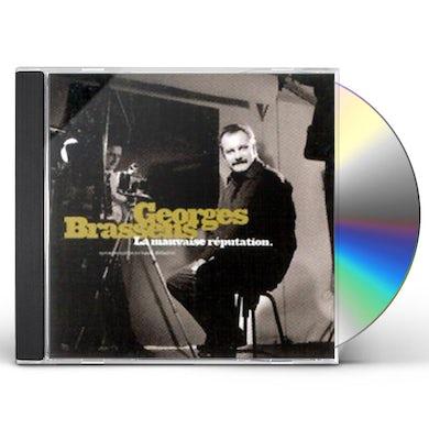 Georges Brassens LA MAUVAISE REPUTATION CD