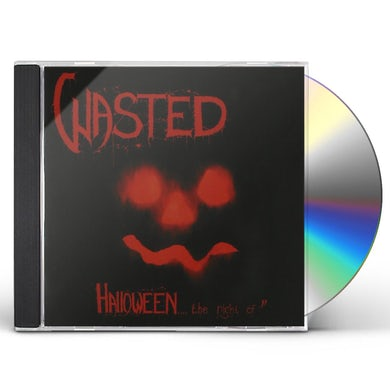 WASTED HALLOWEEN THE NIGHT OF / FINAL CONVULSION CD
