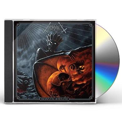 Mordant DEMONIC SATANIC CD