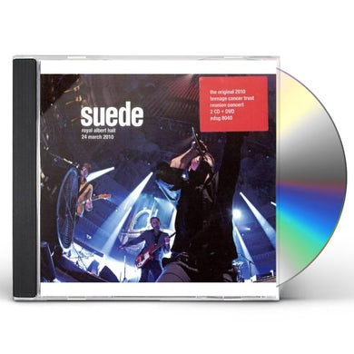 Suede ROYAL ALBERT HALL 24 MARCH 2010 CD