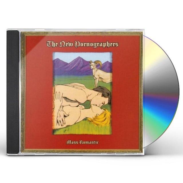 The New Pornographers MASS ROMANTIC CD