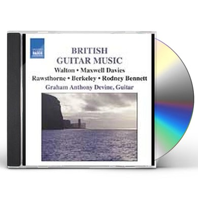 Graham Anthony Devine BRITISH GUITAR MUSIC CD