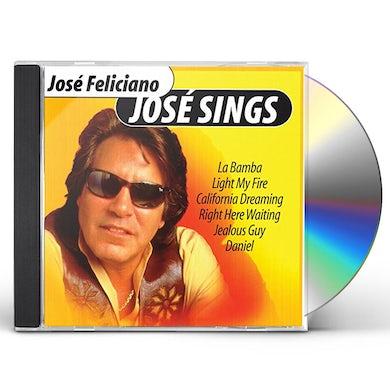 Jose Feliciano JOSE SINGS CD