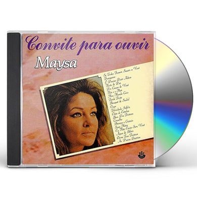 CONVITE PARA OUVIR MAYSA CD
