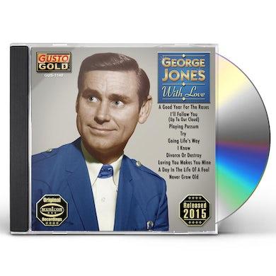 George Jones WITH LOVE CD