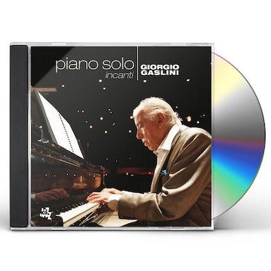Giorgio Gaslini INCANTI: PIANO SOLO CD