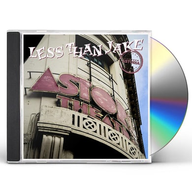 Less Than Jake LIVE FROM ASTORIA CD